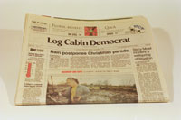PHOTO: The home town newspaper,