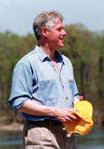 Photo of President Bill Clinton