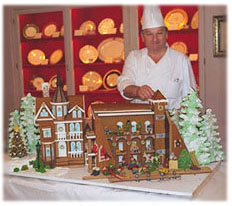 White House Chef and the Gingerbread House