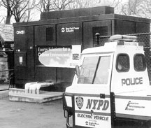 Photo: NYPD Electric Vehicle
