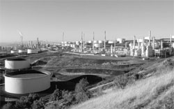Photo: Photo of refinery in Richmond, CA