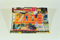 PHOTO: Collage with '2000' in middle
